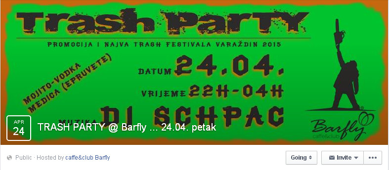 Trash Film Festival – Promo party