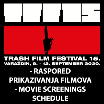 Raspored prikazivanja filmova / Movie screenings schedule